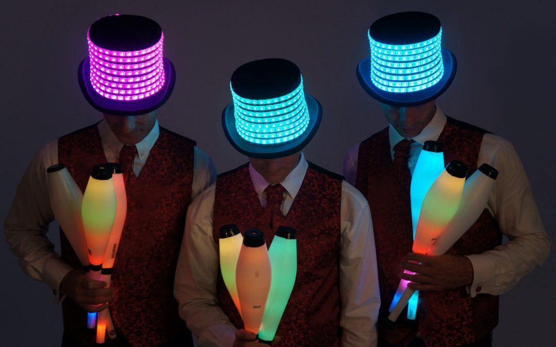 Glow Jugglers