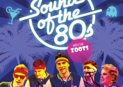 The Zoots Sounds of the 80s Palace Theatre A5 Flyer-1